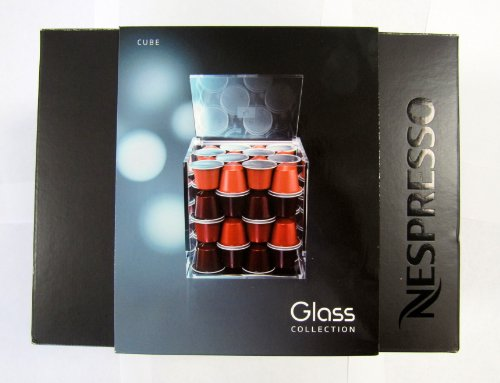 Nespresso Capsule Holder for 50 Capsules Cube by Nespresso
