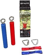 SLACKERS fluitje voor Ninja Line uniseks kinderen, rood/blauw, 20