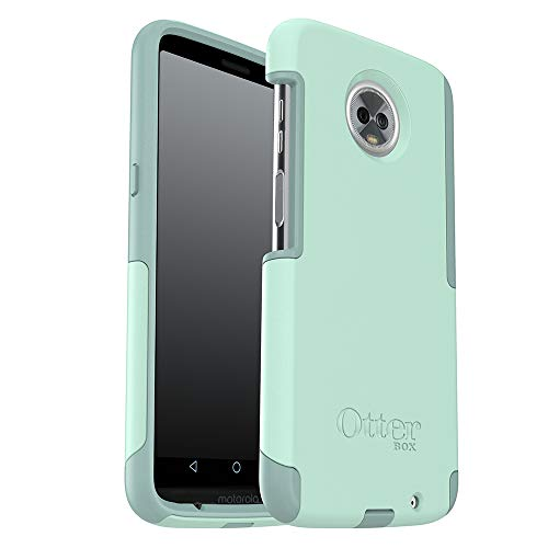OtterBox Commuter Series Case for Moto Z3 Play - Retail Packaging - Ocean Way (Aqua SAIL/Aquifer)