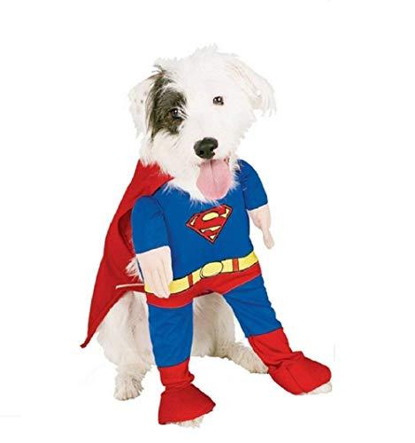 Inception Pro Infinite - L - Superman Kostüm - Steel Man - Mod.2 - Geschenkidee für Weihnachten und Geburtstag - Dog
