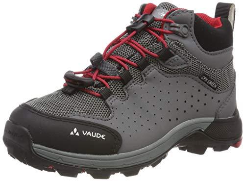 VAUDE Kids Lapita Mid Cpx, Chaussures de Randonnée Hautes Mixte, Rouge (Indian Red), 38 EU