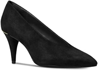 f03dd7b9c5 Michael Michael Kors Womens Lizzy Suede Pointed Toe, Black Suede, Size 5.0