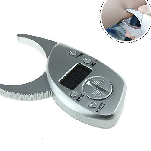 Nlywb vettangtester, digitaal display voor kalibratie van lichaamsvet, LCD-display, omzetting van mm en inch, nauwkeurig, betrouwbaar en goed herstelbaar