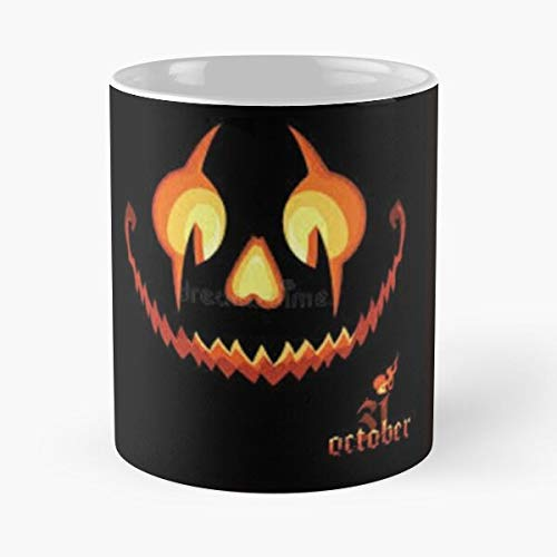 Desconocido Smile Scary 2020 T Jack Shiirt Halloween Taza de café con Leche 11 oz