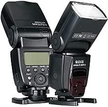 Meike MK570II 2.4G Wireless Manual Camera Flash Speedlite with LCD Display Compatible with Nikon Pentax Panasonic Olympus Fujifilm DSLR Mirrorless Cameras With Hot Shoe