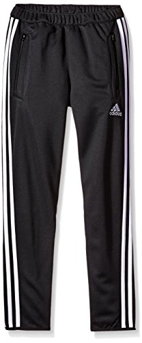 adidas Youth Tiro 13 Training Pant (Black/White, Youth Small)(8 Big Kids)