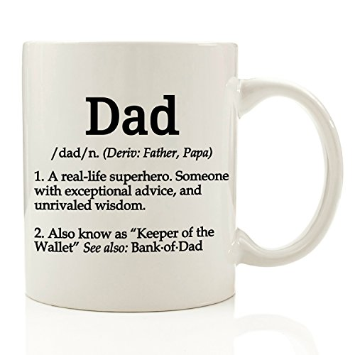 Got Me Tipsy - Dad Definition Funny Coffee Mug 11 oz