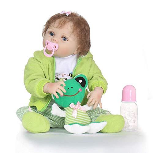 Mlightting@ Muñecos Reborn, Bebe Reborn Juguettos, Muñeca La Moda del Renacimiento De Los, Hermoso Regalo para Niños,A