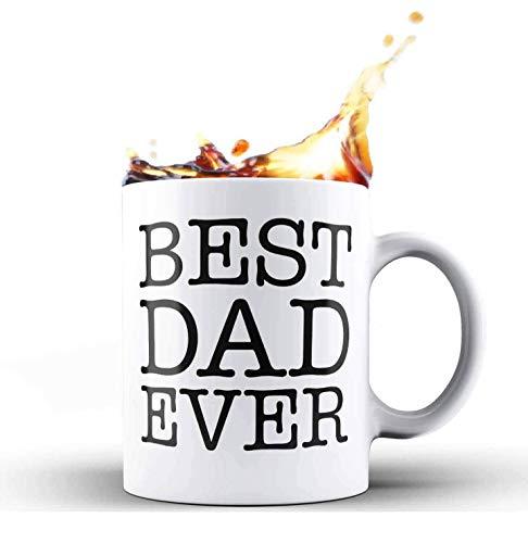 CATNEZA Geschenken voor papa Best. Pap. Ooit. Vaderdag Verjaardag voor nieuwe vader van dochter zoon vrouw keramische koffie mok Tea Cup