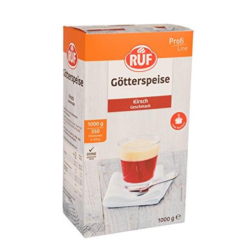 RUF Götterspeise Kirsch Geschmack 1 kg · 10er Pack (10 x 1 kg)