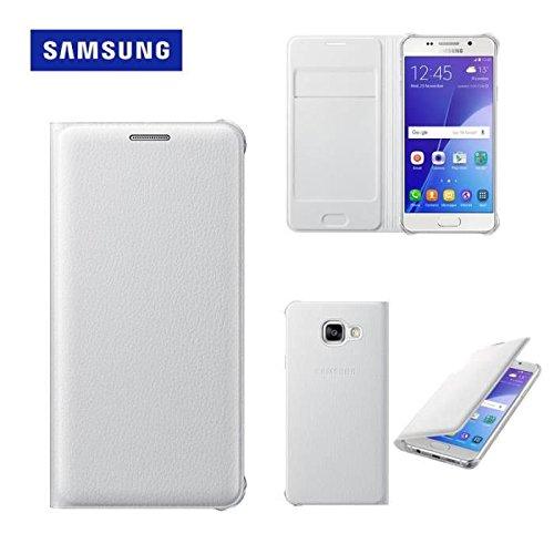 Samsung Flip Wallet Schutzhülle (geeignet für Galaxy A5 (2016)) weiß
