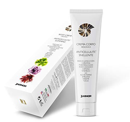 Crema Anticellulite Professionale Cellulite Drenante Dimagrante Rassodante Bava di lumaca e Alghe