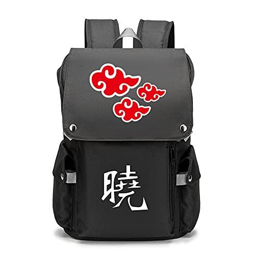 Naruto Anime | Mochila juvenil con patrones personalizados para portátil de viaje, mochilas escolares para camping al aire libre, Opciones 9,
