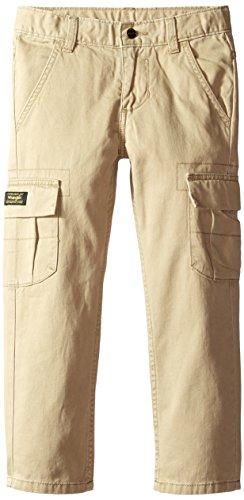 Wrangler Authentics Boys' Classic Cargo Pant, Desert, 12
