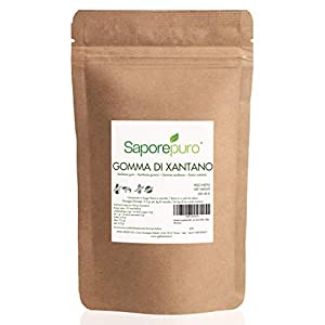XANTANA GOMA - Ideal para helados, salsas, coberturas y sorbetes - 100% puro - 250 GR