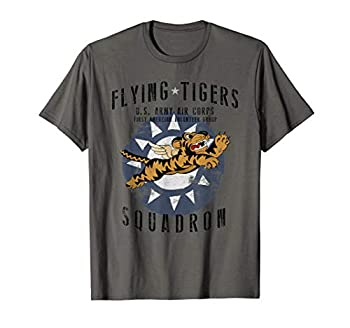 Flying Tiger s WWII Insignia Vintage WW2 Air Corps T-Shirt