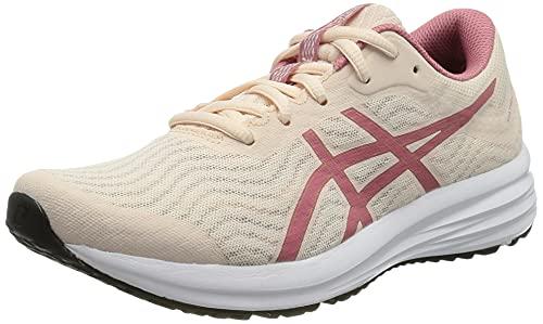 ASICS Damen Patriot 12 Road Running Shoe, Pearl Pink/Smokey Rose, 39.5 EU /6 UK