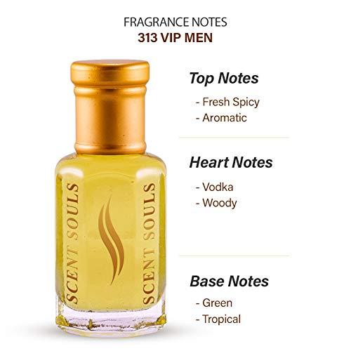 Scent Souls 313 VIP Men Long Lasting Attar Fragrance Perfume Oil For Men- 3 ml