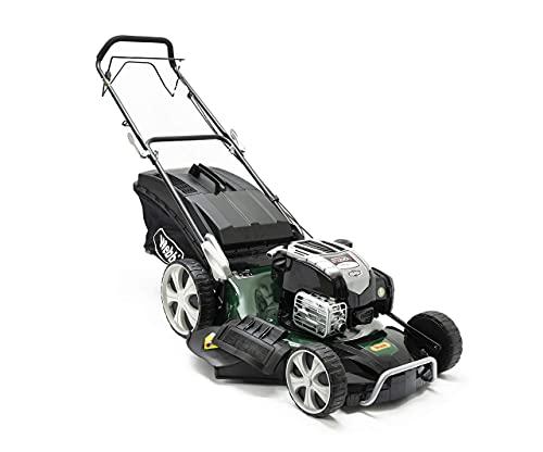 Webb WER21HW 'Supreme' Self-Propelled Hi-Wheel Petrol Rotary Lawnmower