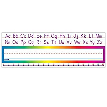 Scholastic Alphabet-Number Line  Standard  Name Plates  TF1528