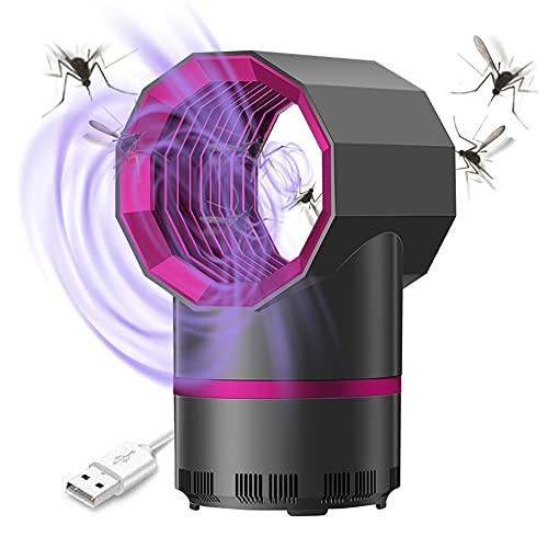 Mroobest Mosquito Killer Lamp, Mosquito Zappers, Elektrischer Insektenvernichter, Insektenkiller Moskito Killer, USB Mückenlampe mit UV-Licht für Kinderzimmer Schlafzimmer Wohnzimmer Innen Büro