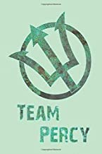 Team Percy: Notebook, Journal for Writing, Size 6