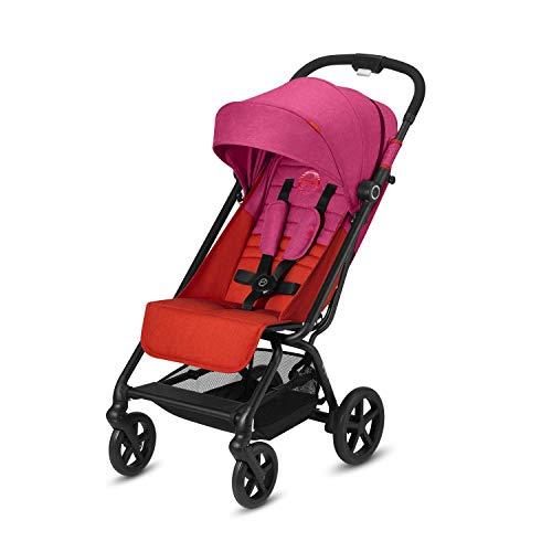 CYBEX Gold Buggy Eezy S+, Einhand-Faltmechanismus, Leichtgewicht, Ab Geburt bis 17 kg (ca. 4 Jahre), Fancy Pink