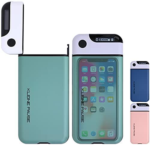 kleine Pause ® (Grün) Handy-Timer-Box | Kontrolle über Smartphone Ablenkung bei Homeoffice Hausaufgaben Einschlafen | Konzentration durch Digital Detox | iPhone, Samsung, Huawei Kompatibel