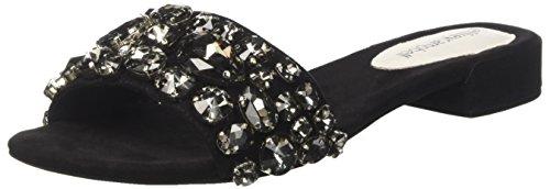 Jeffrey Campbell 11-Krista JWL, Sandales Bout Ouvert Femme, Multicolore Suede Black Bright Multi 001, 36 EU