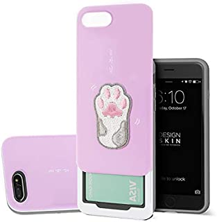 Design Skin iPhone 6/7 / 8 Case, [Slider] Extreme Heavy Duty Triple Layer Bumper Protection of Sliding Wallet Card Holder Cover for Apple iPhone 6,7,8 - Play Me
