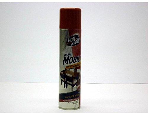 Oem Systems Accessori Pulizia Detergente Spray Pulisvelt Lucido Mobili - 300 ml