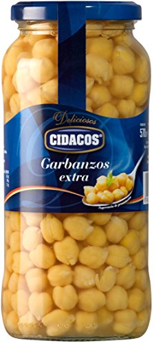 Cidacos Garbanzos Tarro, 570g