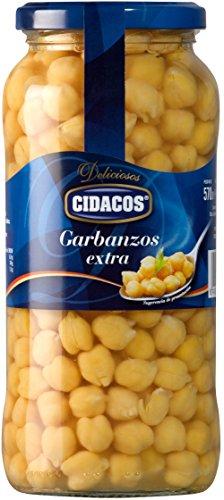 Cidacos - Garbanzos Tarro - 570 g