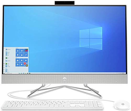 HP 27-DP0023NA 1P0H5EA 27' FHD All-in-One, Intel Core i5 1035G1 (4 Core, 3.60 GHz), 16GB DDR4 RAM, 512GB SSD, Intel UHD Graphics, Windows 10 Pro.