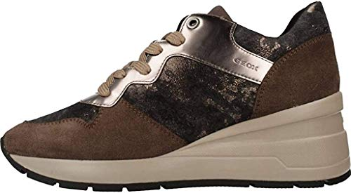 Calzado Deportivo para Mujer, Color marrón (C6004), Marca GEOX, Modelo Calzado Deportivo...