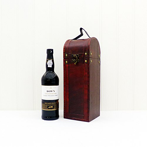 70cl Dow's Trademark Finest Reserve Port in a Wooden Replica Antique Keepsake Chest - Gift Ideas for Mum, Valentines, Mothers Day, Birthday, Anniversary, Corporate and Business, Dad, Fathers Day, him, her