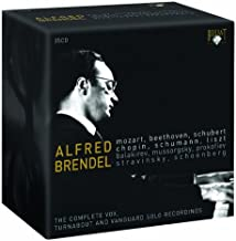 Alfred Brendel: The Complete Vox-Turnabout and Vanguard Solo Recordings 1955-1975