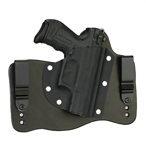 FoxX Holsters Walther P22 in The Waistband Hybrid Holster Tuckable, Concealed Carry Gun Holster