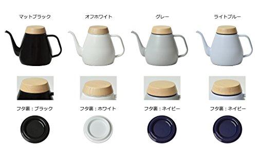日本製ovjectオブジェクトドリップケトル1.8LIH対応ガス対応(オフホワイト)
