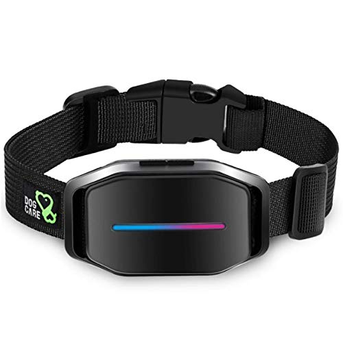 Dogcare Bark Collar - Dog Bark Collar with Intelligent Bark Control, Effective Sound, Vibration, Automatic Shock Modes Training Collar with LED Indicator, Easy to Use Dog Shock Collar