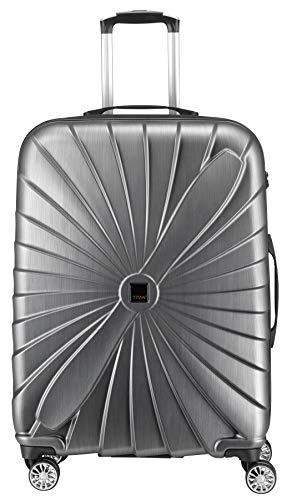 Hartschalen Koffer Triport im Propeller Design, 3 Trolley Größen