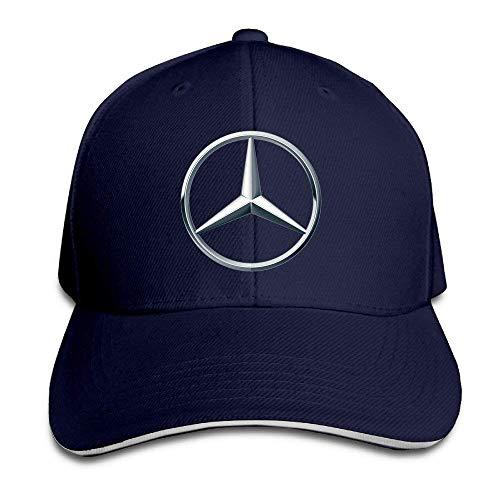 Mercedes Benz Logo Snapback Hats Winter Sombreros y Gorras