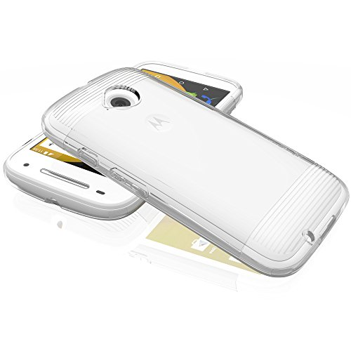 Motorola Moto E (2nd Gen, 2015) Case - VENA [vSkin] Slim Protection [1.4mm Thin] TPU Case Cover for Motorola Moto E (2nd…