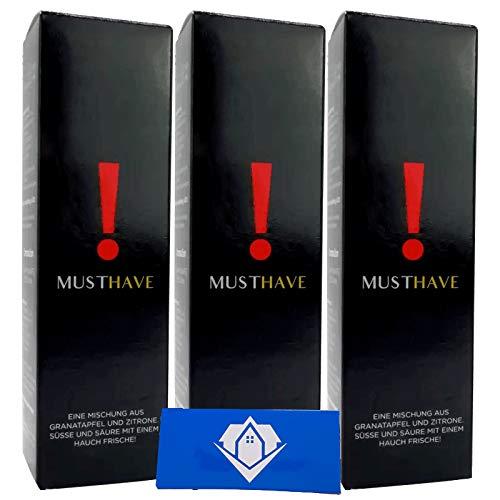 3x Must Have ! Ausrufezeichen 10ml Aroma | Vapebude Akkusleeve Akkuwrap Bundle