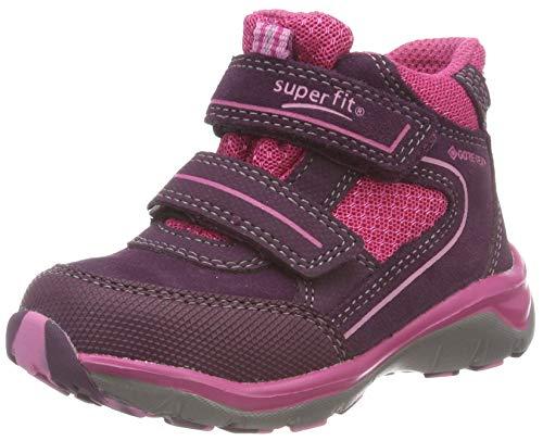 Superfit Mädchen SPORT5 Hohe Sneaker, Violett (Lila/Rosa 90), 33 EU