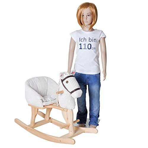 Knorrtoys 40490 – Baby Schaukelpferd Sandy mit Sound - 7