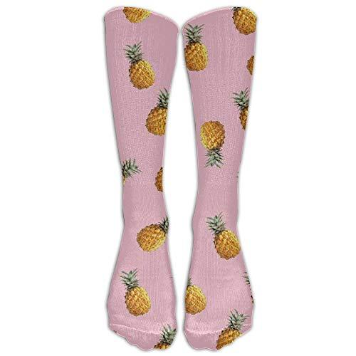 remmber me Ananas-rosa Muster-Strumpf-Rohr-Sport-athletische Socken