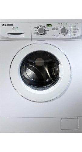 SanGiorgio SES612D lavatrice Libera installazione Caricamento frontale Bianco 6 kg 1200 Giri/min A+++
