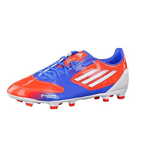 adidas F10 TRX FG, Fußballschuhe für Herren, V21313, rot - blau - weiß, 47 1/3
