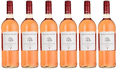 Weingut Heinrich Vollmer Blauer Portugieser Rosé Halbtrocken (6 x 1 l)